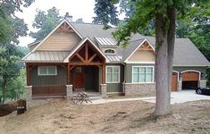 Rugged Craftsman Home for a Sloping Lot - 17650LV thumb - 04