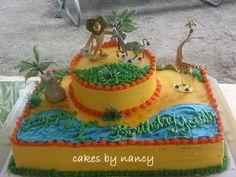 madagascar birthday | madagascar cake — Children's Birthday Cakes