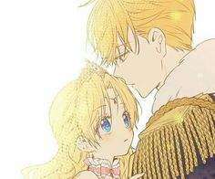 Claude and anthanasia Anime Princess, My Princess, Manhwa Manga, Manga Anime, Days Manga, Anime Family, Castle In The Sky, Anime Hair, Beautiful Anime Girl