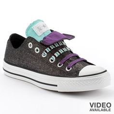 Converse Chuck Taylor All Star Double-Tongue Shoes - Women Converse Style 632ae7cda