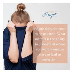 Failure does not need to be negative. What matters is the ability to understand where you went wrong so you can lead to perfection. #failure #sucess #perfection #future #plan #learn #mistakes #understand #courage #thinkpostive #Divorce #separation #DivorceAngel #DivorceDesigners #Divorcehelp #FramingYourFuture #divorced #HelpwithDivorce #divorceplanner #personalCEO #DivorcePorjectManger I Am Not Afraid, Cold Night, Achieve Success, Human Nature, Better Life, Divorce, Mistakes, Something To Do, Told You So