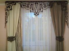 Openwork Laser Lambrequin Curtains L 009 Window Drapes, Drapes Curtains, Drapery, Luxury Curtains, Modern Curtains, Custom Curtains, Curtain Rails, Curtain Sets, Curtain Brackets