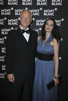 Eva Green Photos Photos - President and CEO of Montblanc International Lutz Bethge and Montblanc brand ambassador Eva Green, wearing  Montblanc Haute Joaillerie En Vague and Montblanc evening clutch, attend the  Montblanc White Nights Festival Welcome Gala Dinner on June 17, 2010 in Saint Petersburg, Russia. - Montblanc White Nights Festival - Welcome Gala Dinner