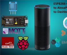 Hi guys!In this insctructables I will be teaching how you can request Alexa about the Temperature and Humidity readings from your DHT sensor, and also how can you integrate the data from the sensor into different Dashboards. Sorry but since I'm uploading this project for IoT Builders Contest, and the deadline is today, I'm without time to make a video showing how things work, but I will definitely do one! This was mostly made in just one day so please tell me if you found any errors!...