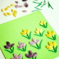 pumpkin seed craft idea for kids Summer Crafts, Fall Crafts, Easter Crafts, Preschool Crafts, Diy And Crafts, Crafts For Kids, Preschool Learning, Spring Activities, Craft Activities For Kids