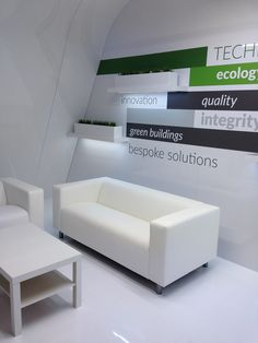 Stand exhibition for Aluprof Polyclose 2016 on Behance Beauty Exhibition, Exhibition Booth Design, Exhibition Stands, Stage Design, Green Building, Innovation, Behance, Interior Design, Showroom