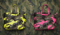 Valentino Camouflage fluo