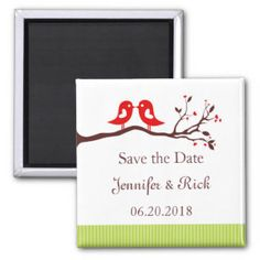 Save The Date Animals Magnets, Save The Date Animals Fridge Magnets - Zazzle UK