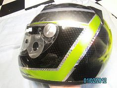 Actually, my hubby airbrushed this race helmet!  :)  He's SO talented!