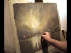 ▶ Pastel Demonstration Landscapes Skies and reflections with limited palette by Les Darlow .wmv - YouTube