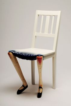 Artistic design chairs by Benjamin Nordsmark