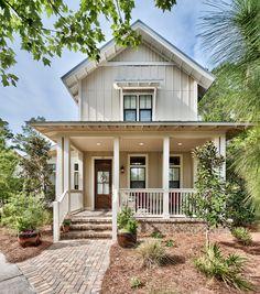 Sea Nest, coastal cottage home plan. Archiscapes, Freeport, FL. Tim Kramer Photography.
