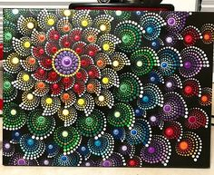 This is a inches (approximately cm) canvas. All in dots. Finished touch with krylon UV resistant clear acrylic coating. Mandala Art, Mandala Drawing, Chakra Healing, Arte Country, Etsy, Clear Acrylic, Art Images, Photo Art, Beautiful