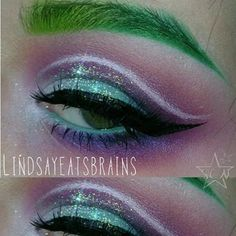Created with the help of starcrushedminerals eyeshadows in DarkMatter,Impulsive and WhiteLightning.