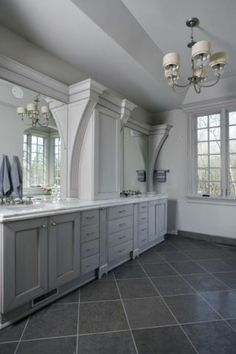 Limestone tiles are frequently used for flooring in bathrooms, fireplace facades, kitchen backsplashes, as well as indoor or exterior applications. Bathroom Tile Designs, Bathroom Floor Tiles, Bathroom Ideas, Stone Bathroom, Grey Bathrooms, Small Bathroom, Country Bathrooms, Bathroom Renovations, Home Remodeling