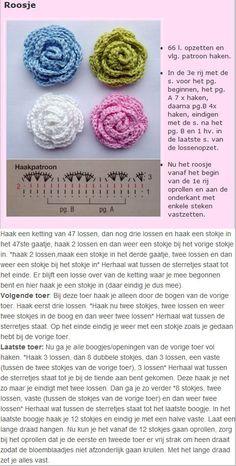 Crochet Roses - Chart ❥ 4U // hf