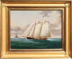 William G. Yorke Oil on Canvas | August 2, 2014 Auction at Rafael Osona Auctions Nantucket, MA