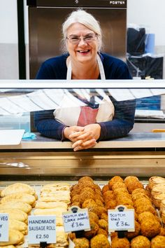 """Zoe Tew, a home baker who manages the Mrs King's Pork Pies stall at Borough Market in London, said the surge in interest in baking in the country was annoying """"because baking, that's always been my thing. Now it's everybody's thing."""" (Photo: David Azia for The New York Times)"""