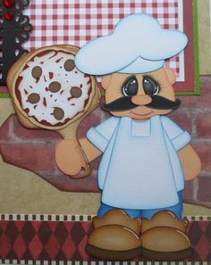 Pizza Collection- Treasure Box Designs Kids Scrapbook, Scrapbook Paper Crafts, Scrapbook Pages, Punch Art Cards, Paper Punch, Paper Piecing Patterns, Treasure Boxes, Box Design, Cute Cards