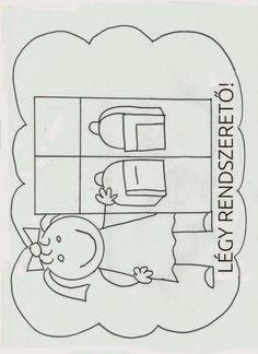 Iskolai szabályok | Marci fejlesztő és kreatív oldala | Bloglovin' School Decorations, Primary School, Classroom Decor, Classroom Management, Special Education, Childrens Books, Back To School, Activities For Kids, Diy And Crafts