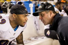 Steve Smith Sr & John Harbaugh