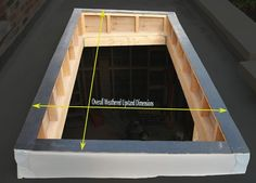 building an up stand for skylight - Google Search