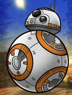 How to draw #BB8 step by step. http://www.dragoart.com/tuts/22678/1/1/how-to-draw-bb-8.htm