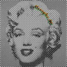 Manoylov AC - Truchet image pattern Generative Art, Shirt Designs, Portrait, Abstract, Illustration, Creative, Girls, Artwork, Pattern