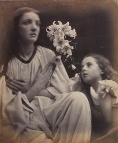 A Study after the Manner of Francia, 1865, by Julia Margaret Cameron.