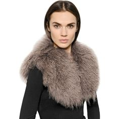 URBANCODE Faux Mongolia Fur Stole (15.510 RUB) ❤ liked on Polyvore featuring accessories, scarves, beige, faux fur scarves, fur scarves, faux fur shawl, faux stole and urbancode