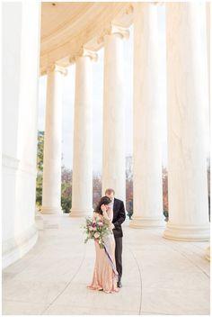 Washington DC Wedding | Jefferson Memorial Anniversary Photos | Rebecca & Christian — KIR TUBEN