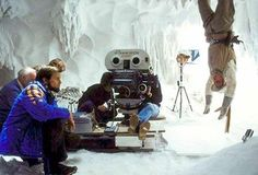 Rare Behind the Scenes Photos of 'Star Wars