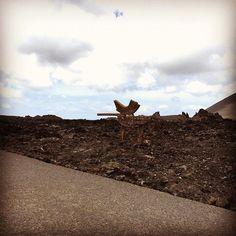 Diesmal mit dem Auto auf den Vulkan #nicetobehere #placetobe #lanzarote