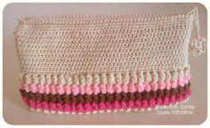 Tecendo Artes em Crochet: Necessaire Amore