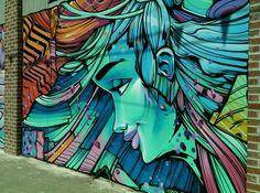 Street art, Richmond in Melbourne, VIC, Australia