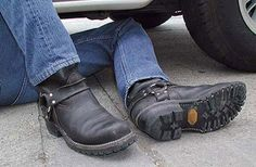 WESCO Harness Boots - a classic. Get 'em at Stompers