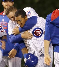 Anthony Rizzo/Addison Russell. May 2015