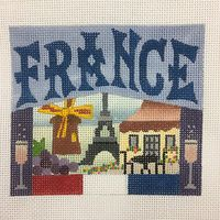 Needlepoint Postcard Canvases