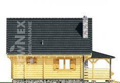 Jaskółka II - Domy drewniane letniskowe - DREWNEX Cabin, House Styles, Outdoor Decor, Home Decor, Projects, Decoration Home, Room Decor, Cabins, Cottage