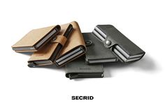 Secrid Wallet Recycled Leather models 2016!