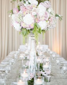 Featured Photographer: Nadia Hung Photography; Wedding reception centerpiece idea.