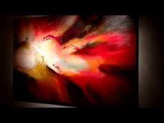 ▶ The accomplishment- very large abstract painting by Dan Bunea www.danbunea.ro - YouTube