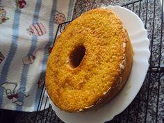 Sr. Avental: Bolo de maçã e limão com calda de fruta