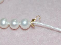Pearl Necklace Clamshell tip