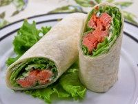 Smoked Salmon Wrap is perfect for a quick lunch or dinner. It is high in protein, fiber, and low in calories. Get recipe here:  http://dr-oz.com/total-choice-smoked-salmon-tortilla-wrap-recipe/