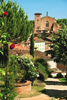 Sunny village of #Gaillac - #Tarn, France