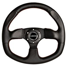 NRG 320mm Sport Leather Steering Wheel Oval with Red Stitching MSRP $142.87 PRICE Amazon.com $90.09
