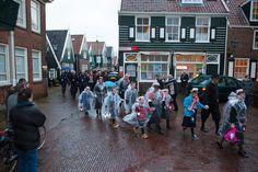De watersnoodramp herdenking in Marken.