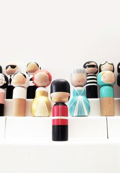 GUARD KOKESHI DOLL - Sketchinc