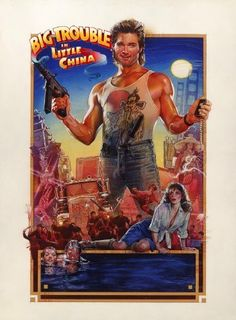 Big Trouble In Little China: Kurt Russell